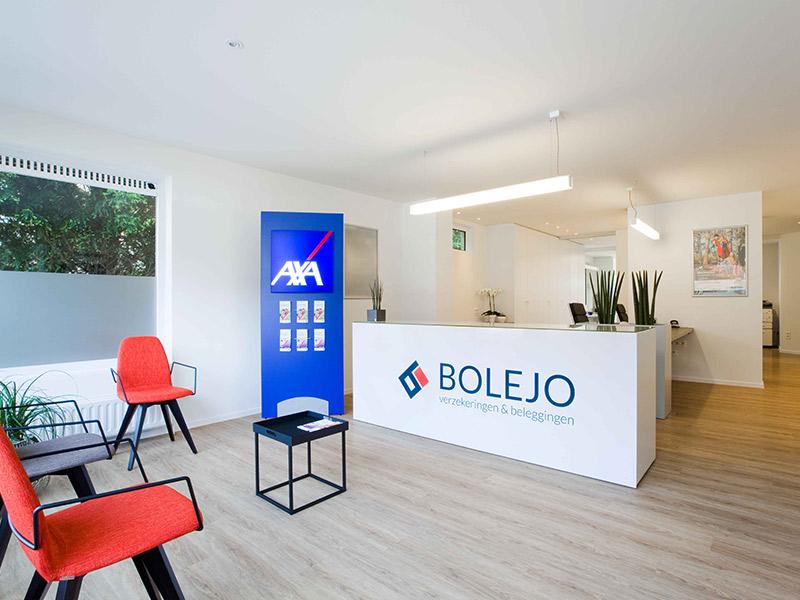 boa interior bureau verzekering bolejo kantoor