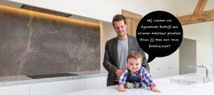 interieur ontwerper roman willems in eigen keuken ontwerp