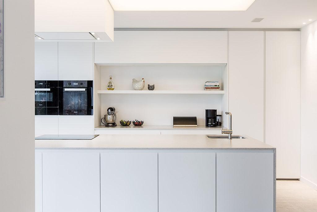 keuken van de toekomst met moderne snufjes