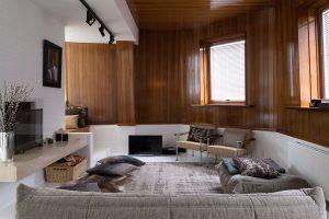 woonkamer van modeontwerper tim van steenbergen