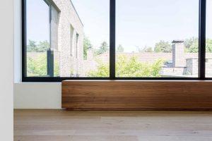 massief houten bekisting voor de verwarming