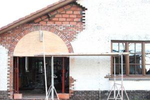 metselwerken en timmerwerken boa interior stelling en houten koepel