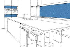 keuken ontwerp op maat gemaakt