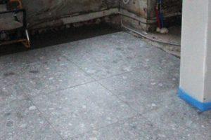 Chape & vloerwerken met een nieuw betegelde vloer