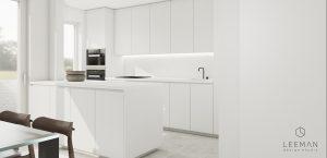 wit keukeneiland interieur keuken ontwerp en witte maatkasten