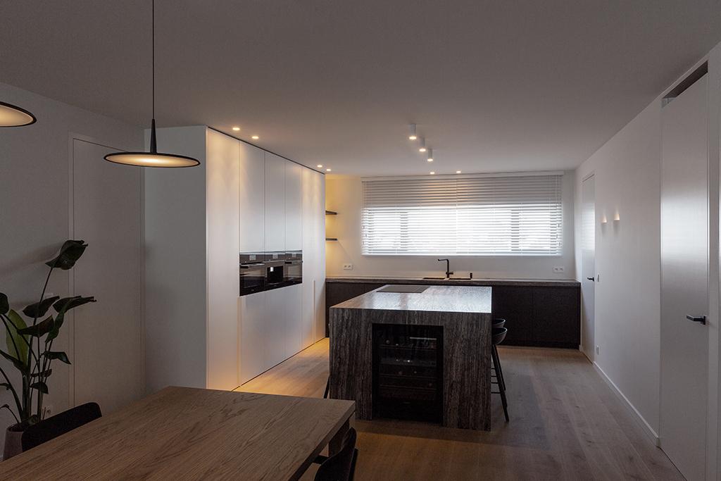 De keuken van het project in Haarden.